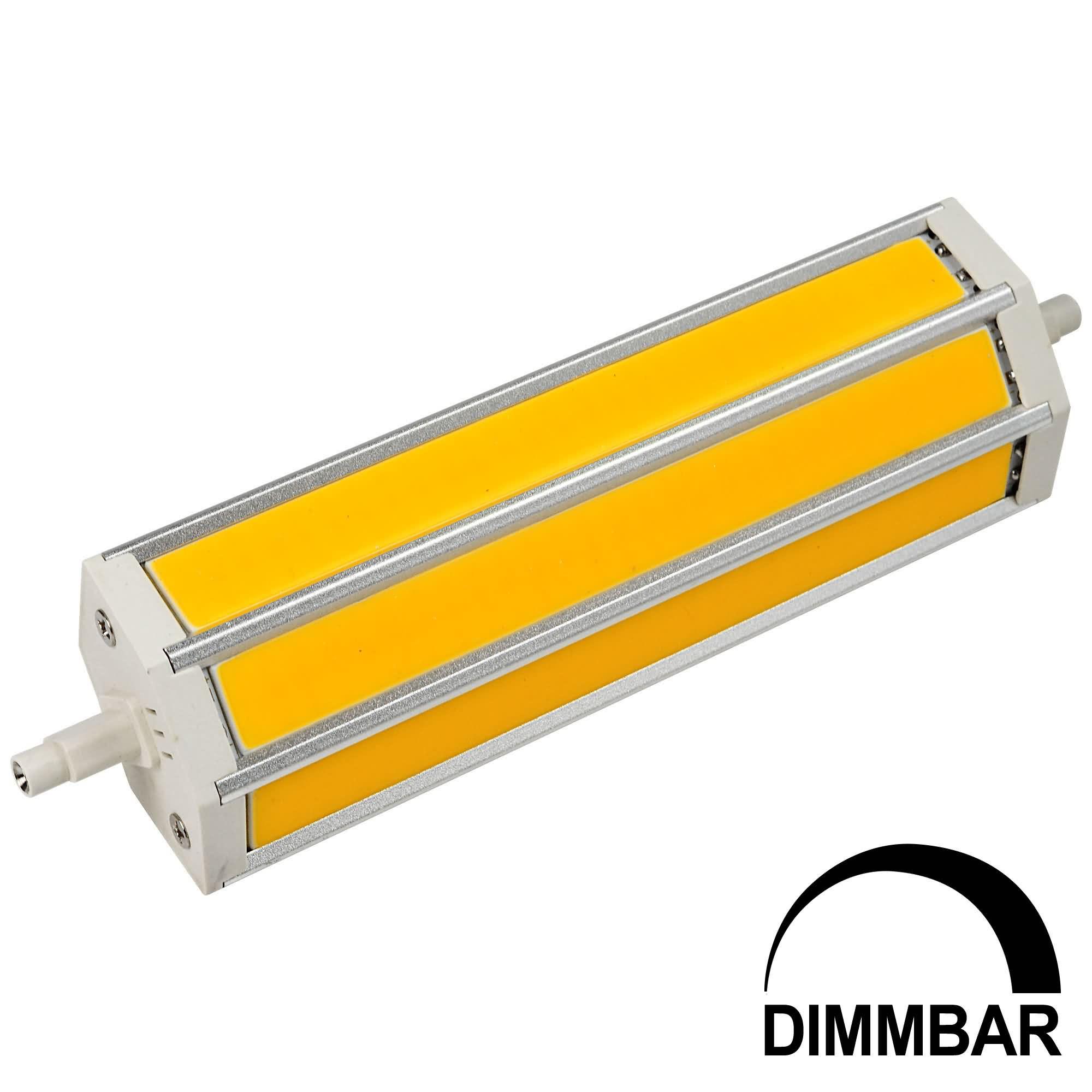MENGS® R7S J189 15W LED Dimmable Flood Light 3 COB LED Lamp Bulb in Warm White Energy-saving Lamp