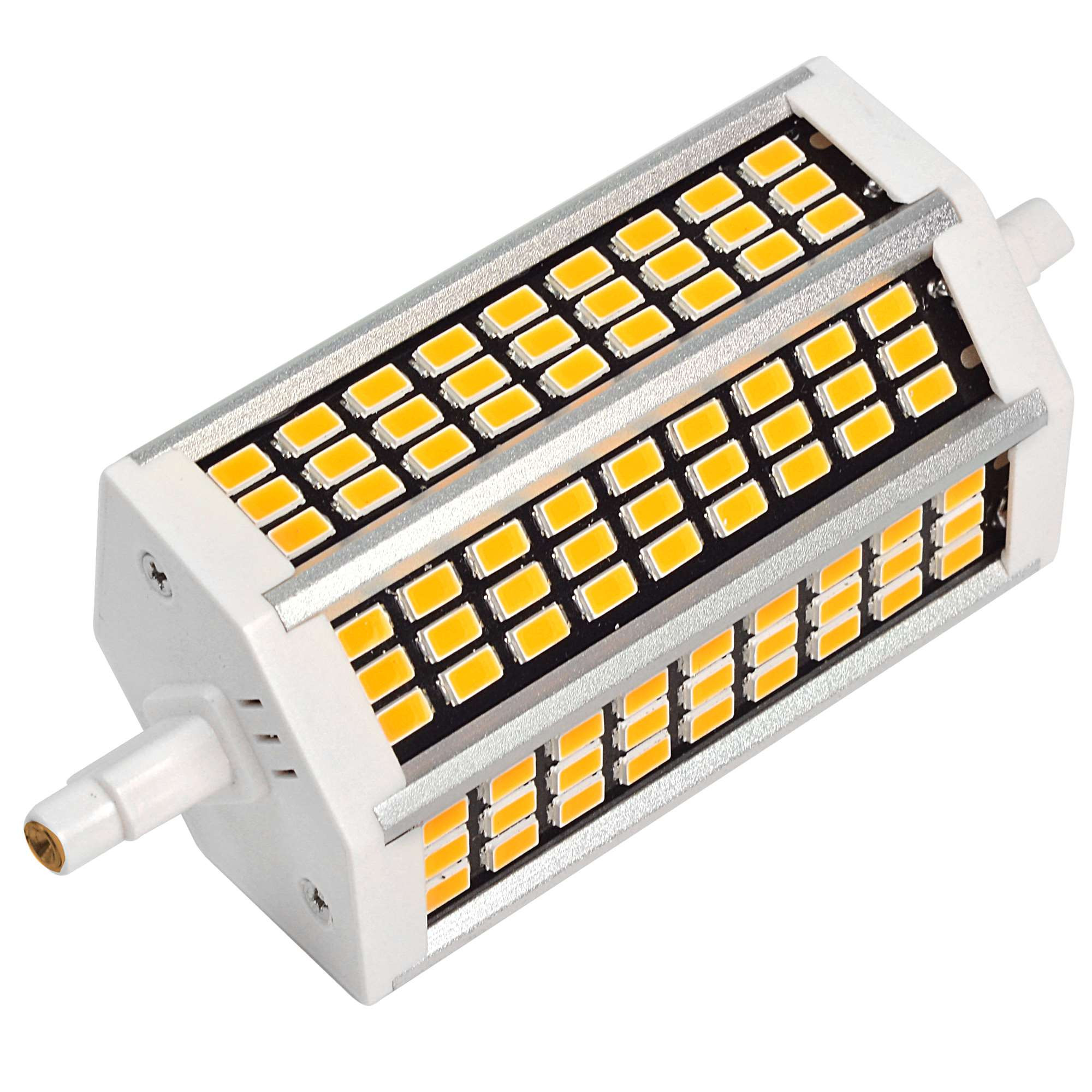 MENGS® R7s 10W LED Flood Light 81x 5733 SMD LED Bulb Lamp AC 220-240V In Cool White Energy-Saving Light