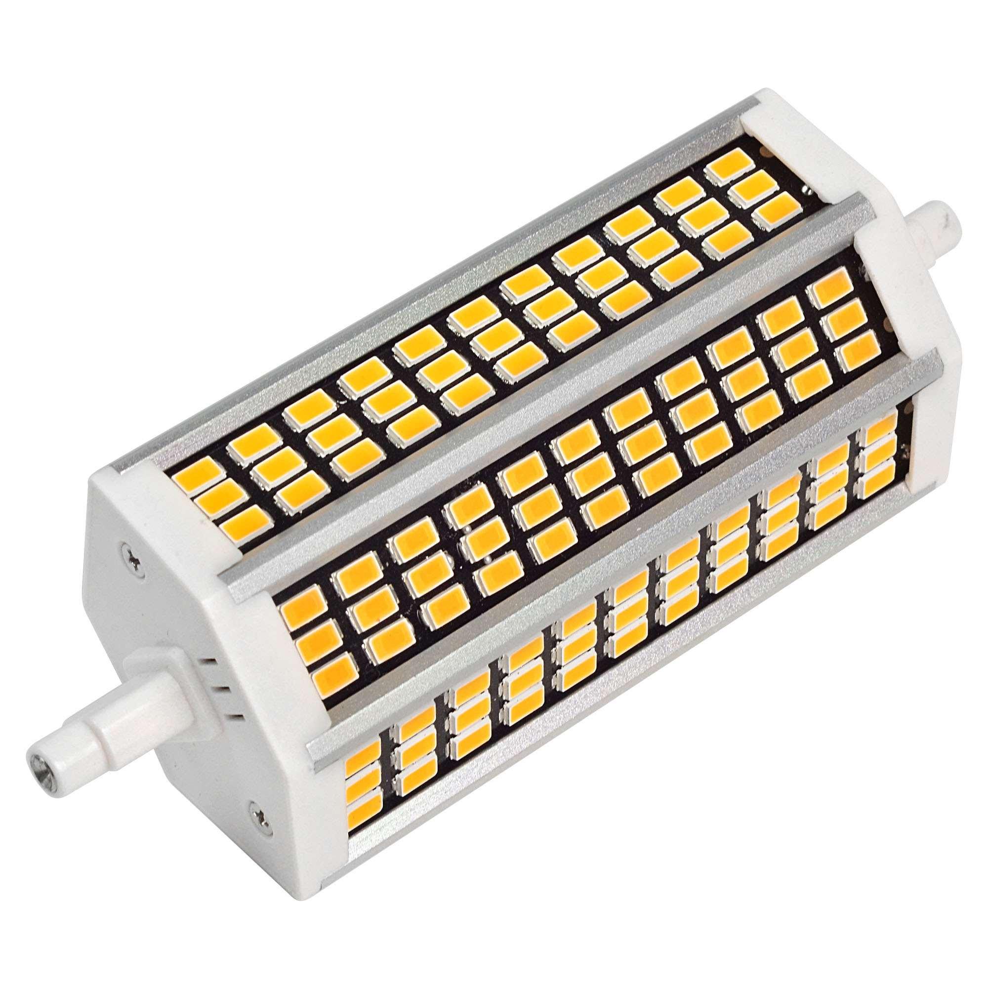 MENGS® R7s 13W LED Flood Light 99x 5733 SMD LED Bulb Lamp AC 220-240V In Warm White Energy-Saving Light