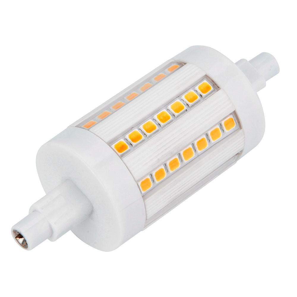 MENGS® R7s 6W LED Flood Light 56x 2835 SMD LED Bulb Lamp In Warm White Energy-Saving Lamp