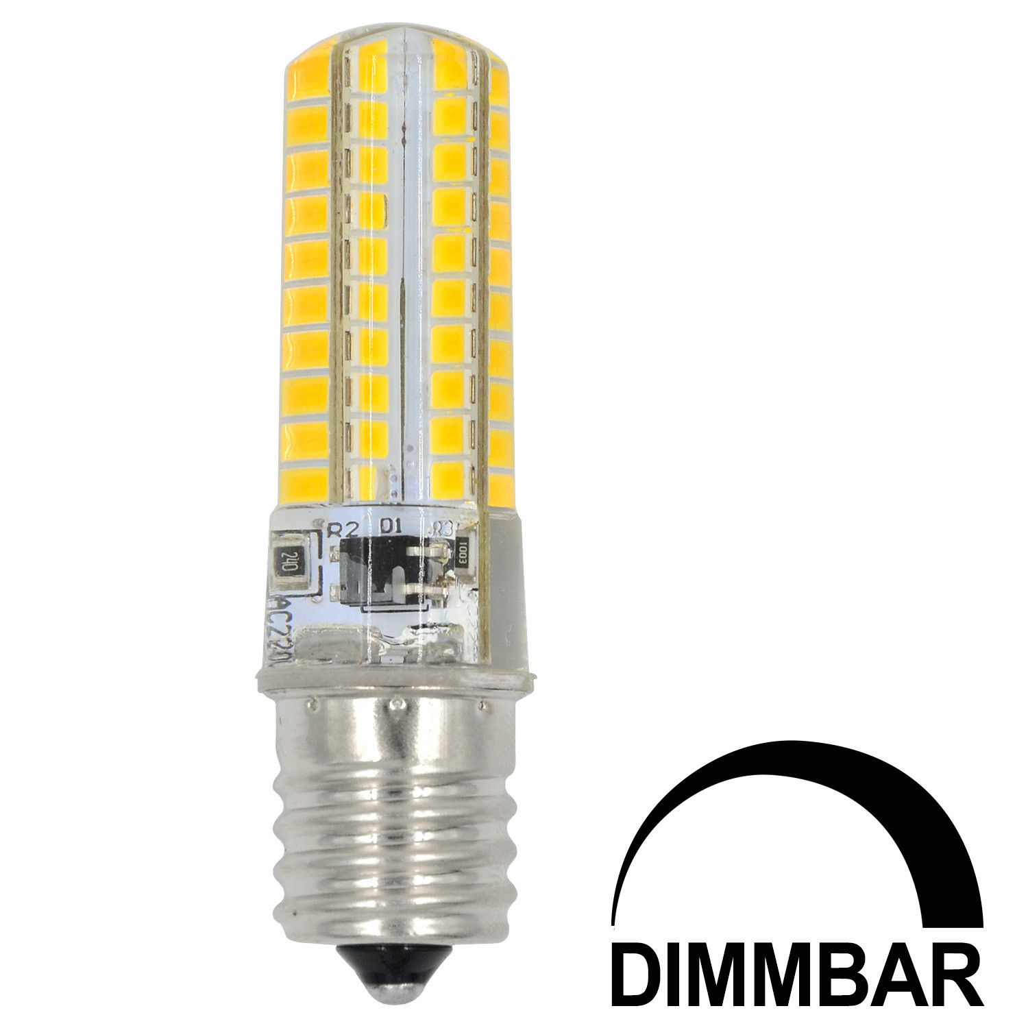 MENGS® E17 7W LED Dimmable Light 80x 2835 SMD LED Bulb Lamp In Cool White Energy-Saving Light