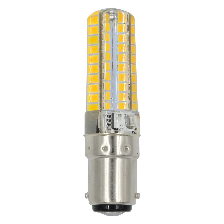 MENGS® B15D 7W LED Light 80x 2835 SMD 3-level Brightness LED Bulb Lamp In Warm White Energy-Saving Light