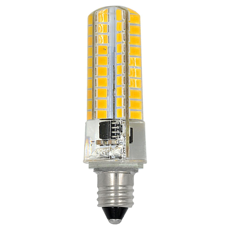 MENGS® E11 7W LED Light 80x 2835 SMD 3-level Brightness LED Bulb Lamp In Cool White Energy-Saving Light