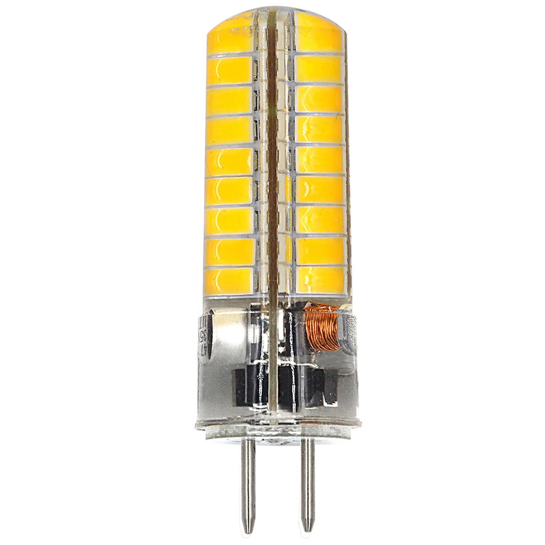 MENGS® GY6.35 6W LED Light 72x 5730 SMD LED Bulb Lamp AC/DC 12V In Cool White Energy-Saving Light
