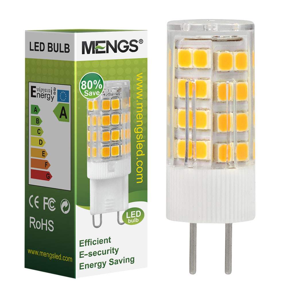 MENGS® GY6.35 5W LED Light 51x 2835 SMD LED Bulb Lamp In Warm White Energy-Saving Lamp