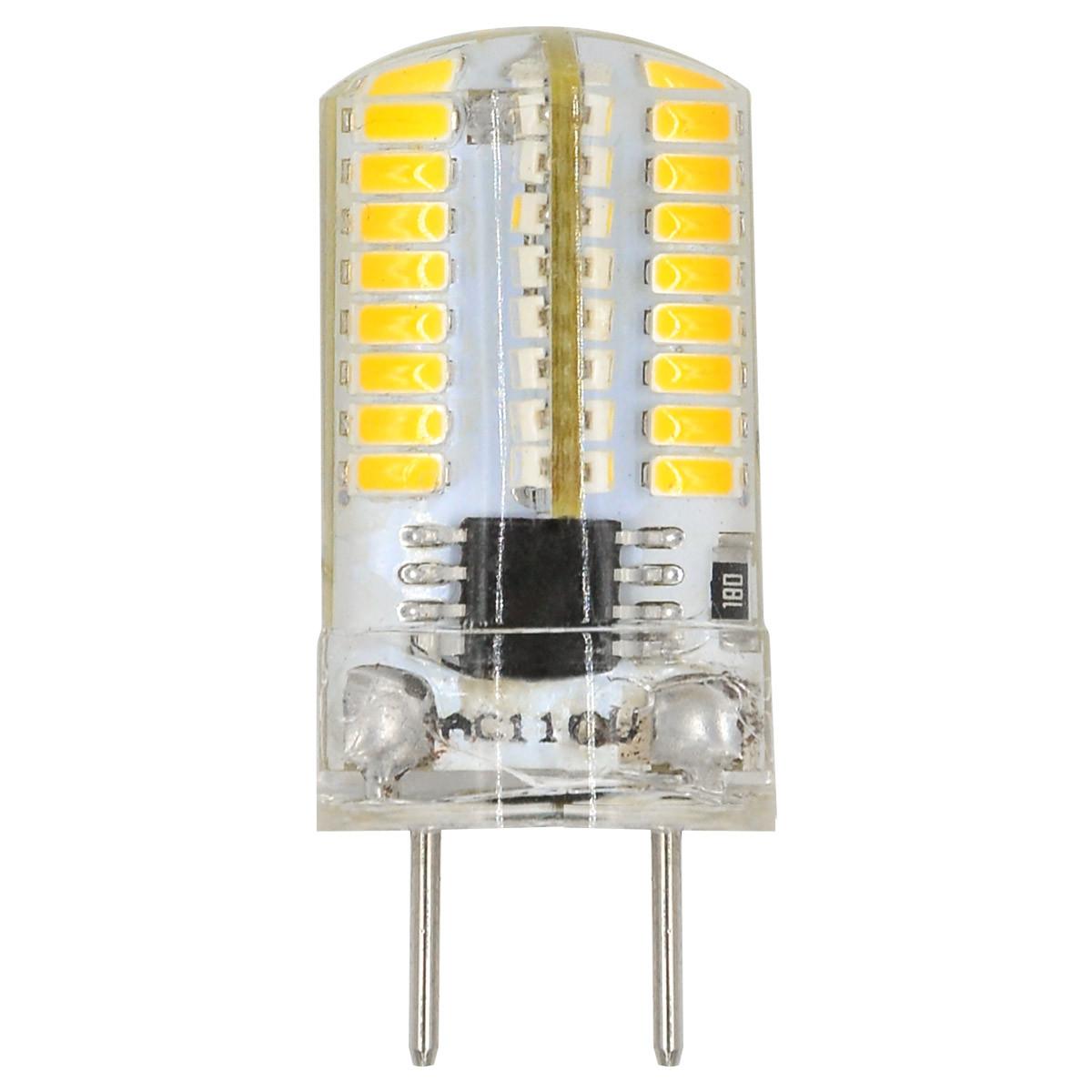 MENGS® G8 3W LED Light 64x 3014 SMD LED Bulb Lamp In Warm White Energy-Saving Light