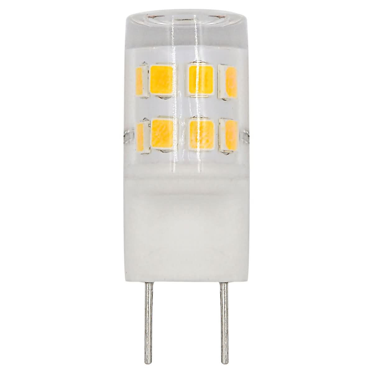 MENGS® G8 2W LED Light 17x 2835 SMD LED Bulb Lamp AC 220-240V In Warm White Energy-Saving Light