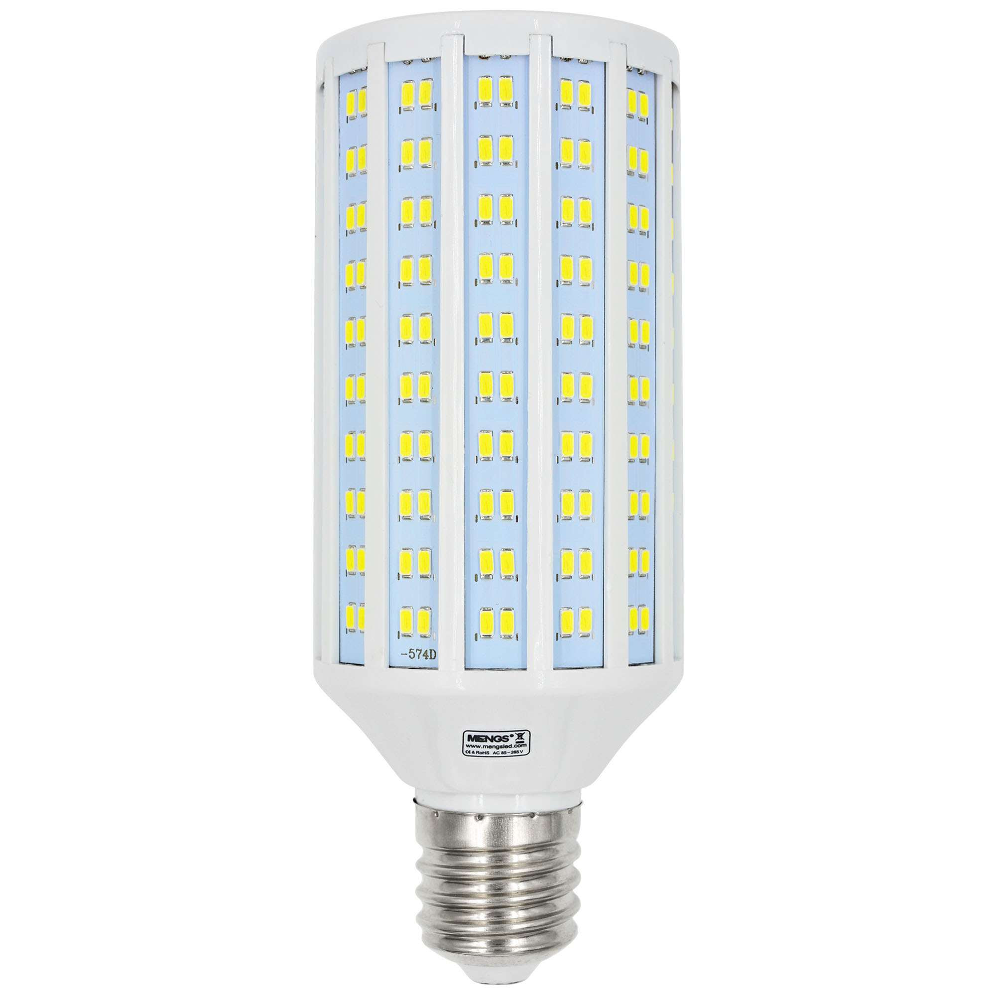 MENGS® E40 50W LED Corn Light 310x 5730 SMD LED Bulb Lamp AC 85-265V In Cool White Energy-Saving Light