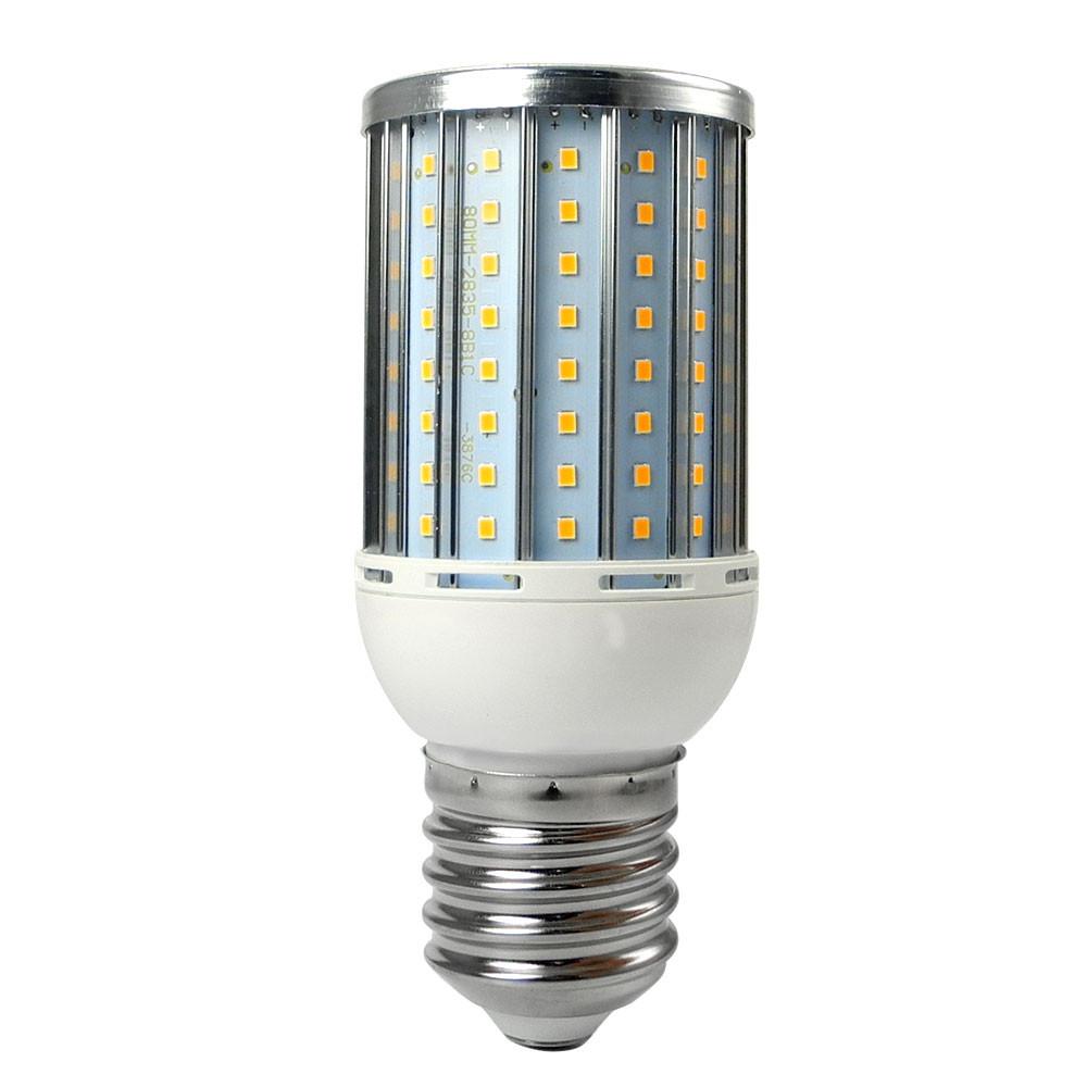 MENGS® Anti-Strobe E40 25W LED Corn Light 128x 2835 SMD LED Bulb Lamp Aluminum Alloy AC 85-265V In Cool White Energy-Saving Light