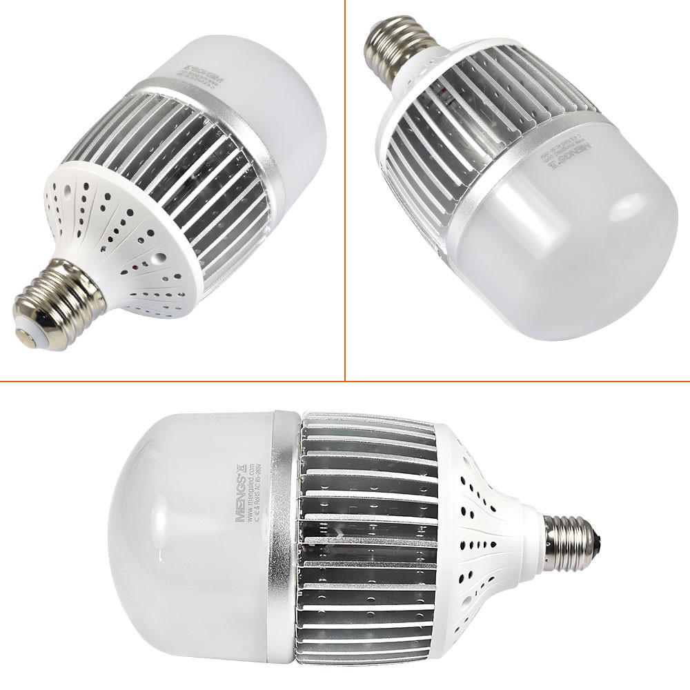 Stadium Lights Light Bulb: MENGS® CL-Q50W High Lumens E40 50W = 400W LED Globe Light