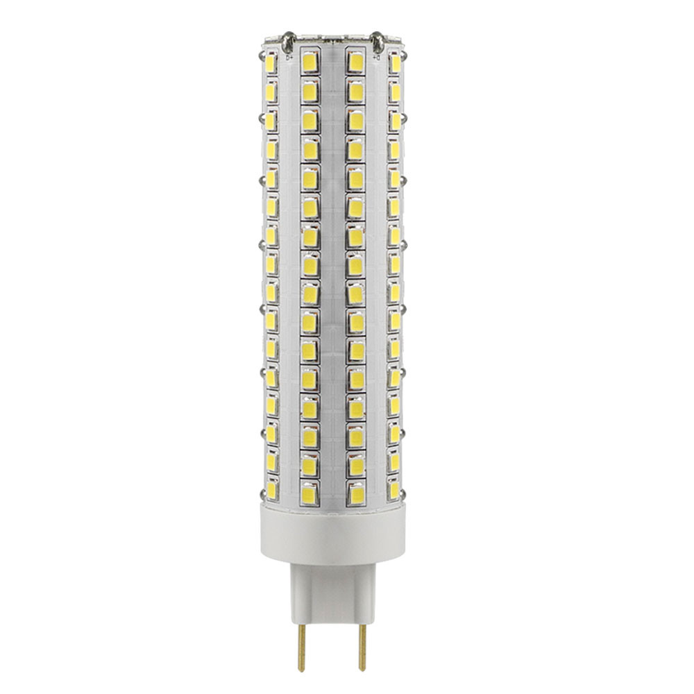 MENGS® G8.5 15W LED Light 144x 2835 SMD LED Bulb Lamp In Cool White Energy-Saving Light