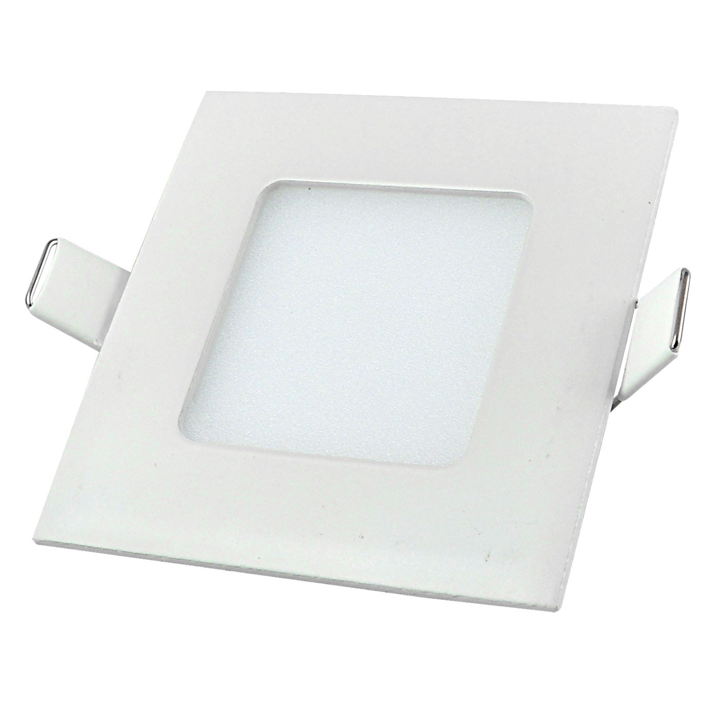 MENGS® 3W square LED recessed ceiling panel light 15x 2835 SMD LEDs LED Bulb Lamp in Warm White energy-saving light