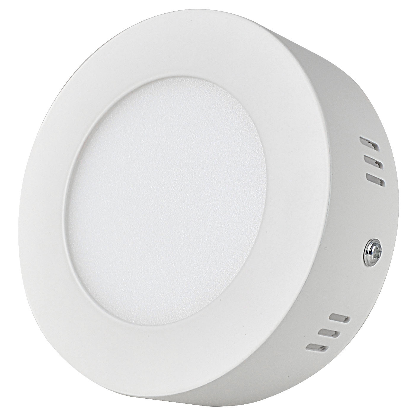 MENGS® 6W Round LED Ceiling Light 30x 2835 SMD LED Recessed Panel Lamp in Warm White Energy-saving Light