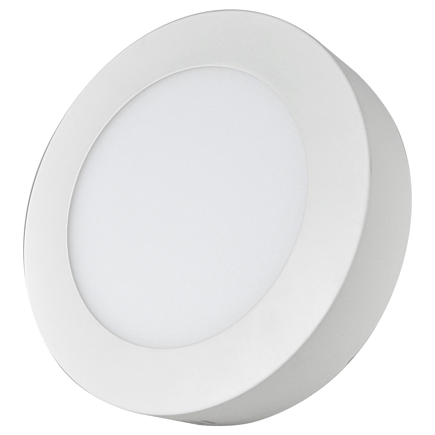 MENGS® 12W Round LED Ceiling Light 60x 2835 SMD LED Recessed Panel Lamp in Warm White Energy-saving Light