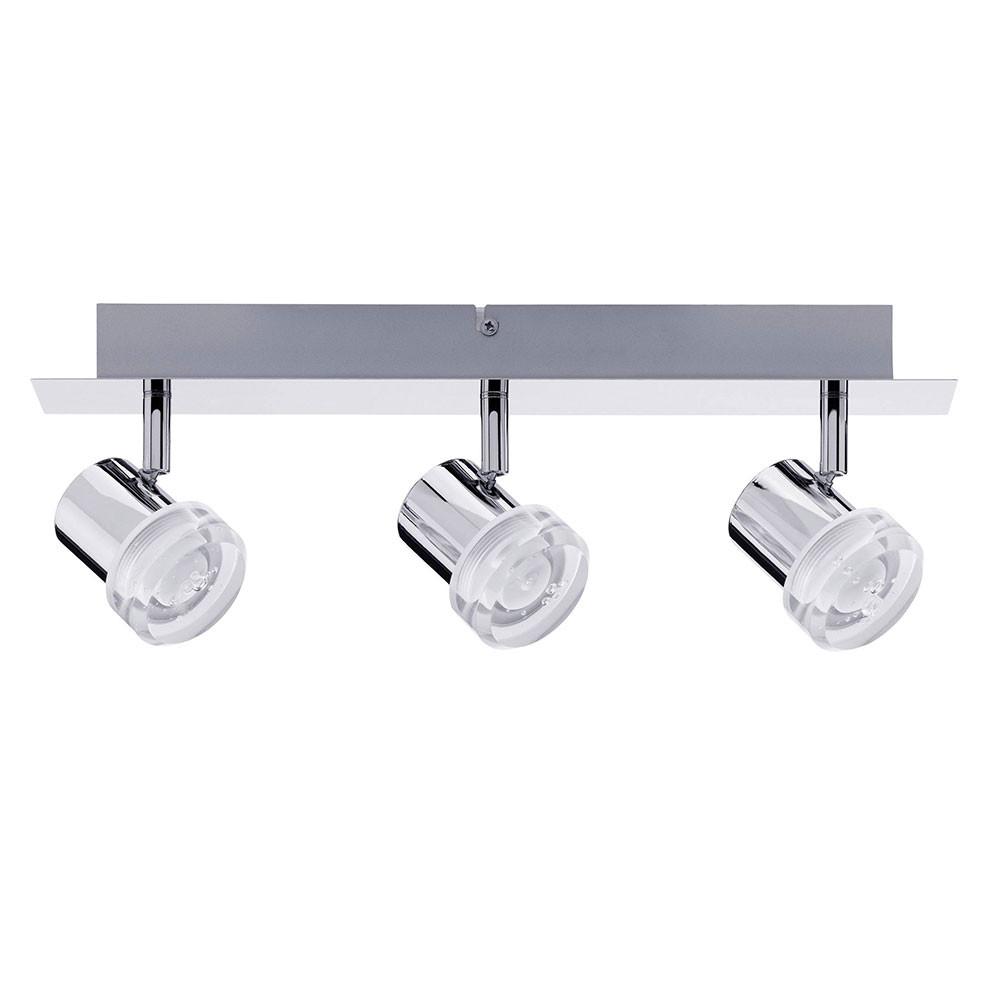 PAULMANN® Spotlight PEARL LED 3x 3.2W Chrom Metal Material 230V