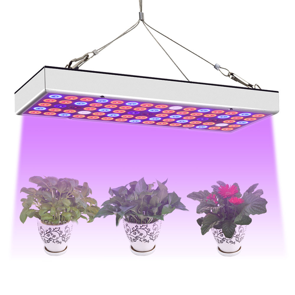 MENGS® PL-10 25W Full Spectrum Panel Grow Lamp with IR & UV LED Grow Lights for Greenhouse And Hydroponic Indoor Plants Vegetable And Flower