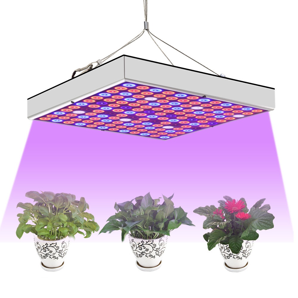 MENGS® PL-11 45W Full Spectrum Panel Grow Lamp With IR & UV LED Grow Lights For Greenhouse And Hydroponic Indoor Plants Vegetable And Flower