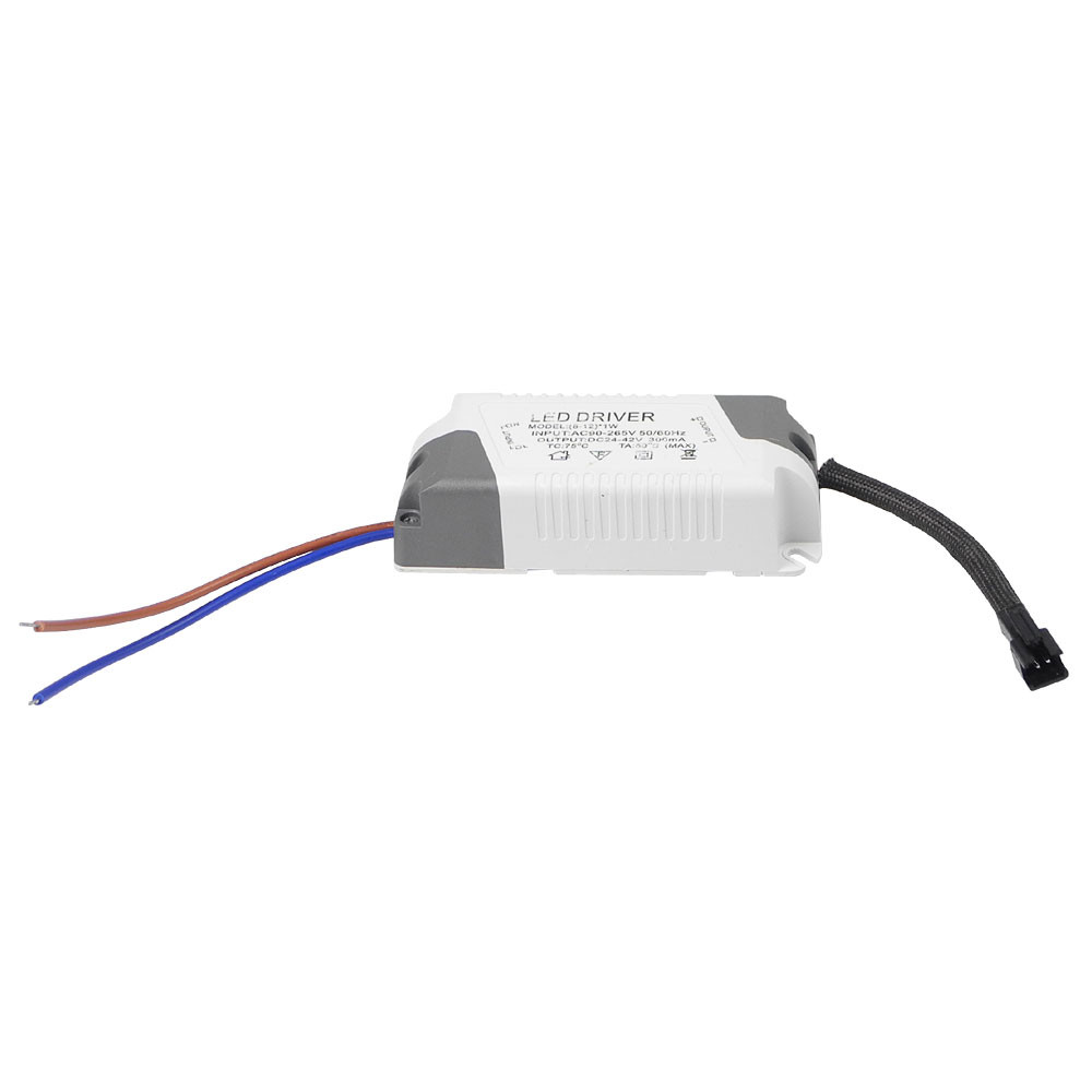 MENGS® LD-003 8-12 x 1W  LED Driver Power Supply Transformer  AC100-265V-DC 24-43V