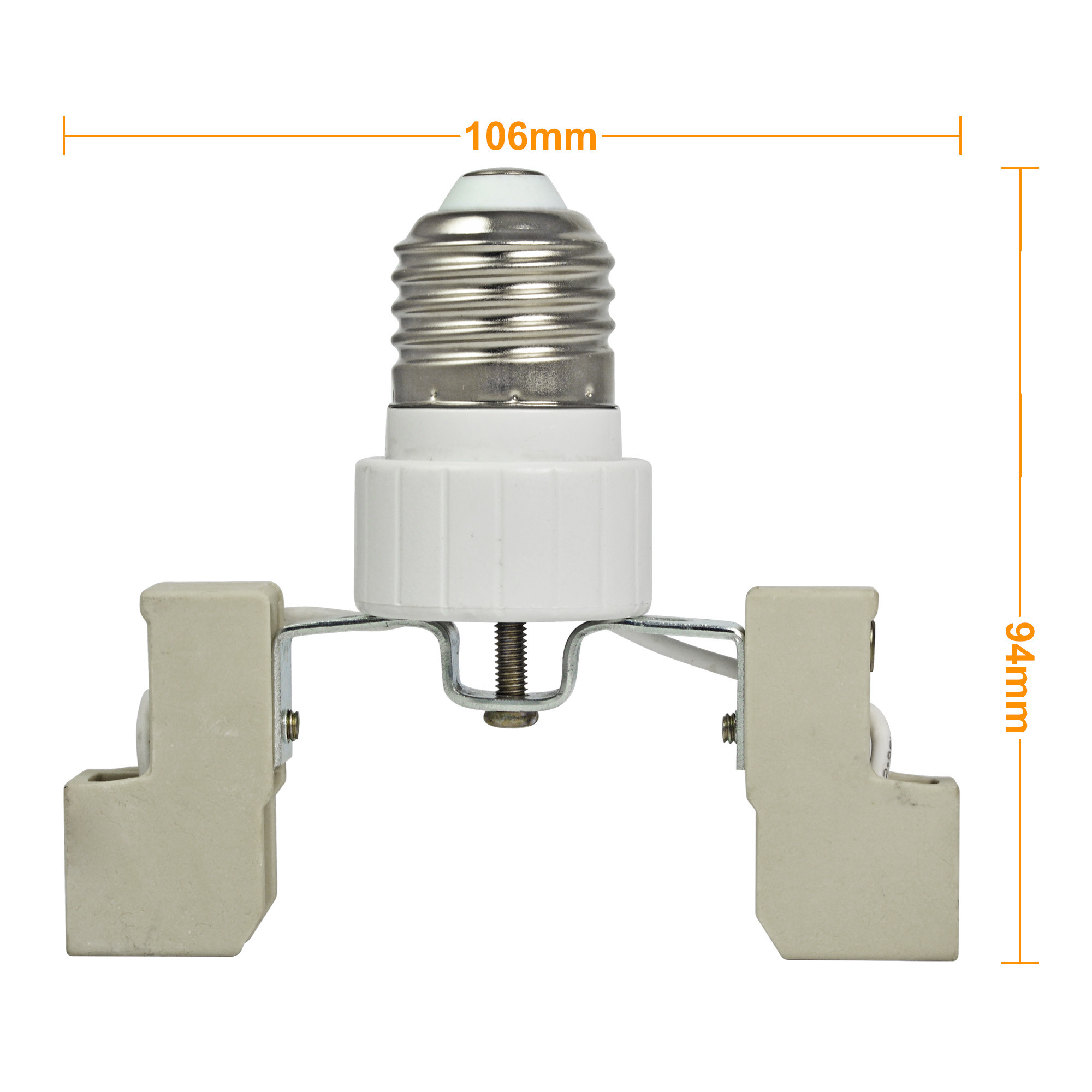 E27 to r7s 78mm base led light lamp bulb adapter converter for Lampadina r7s led 78mm