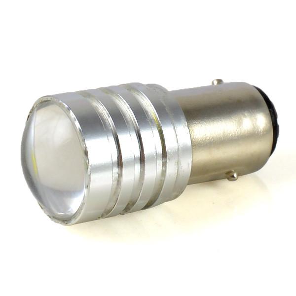 MENGS® 1157 BAY15D 5W LED Car Light LED Lamp LED Brake / Anti-Fog / Reversing Light DC 12V in Cool White Energy-Saving Light - Silver
