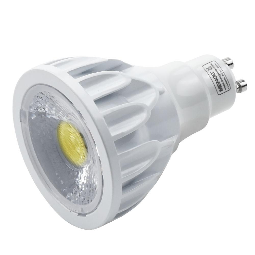MENGS® PAR20 GU10 12W COB LED Spotlight  Cool White 6000K, AC 85-265V, 1200ML, Equivalent 95W Halogen Energy-Saving Lamp