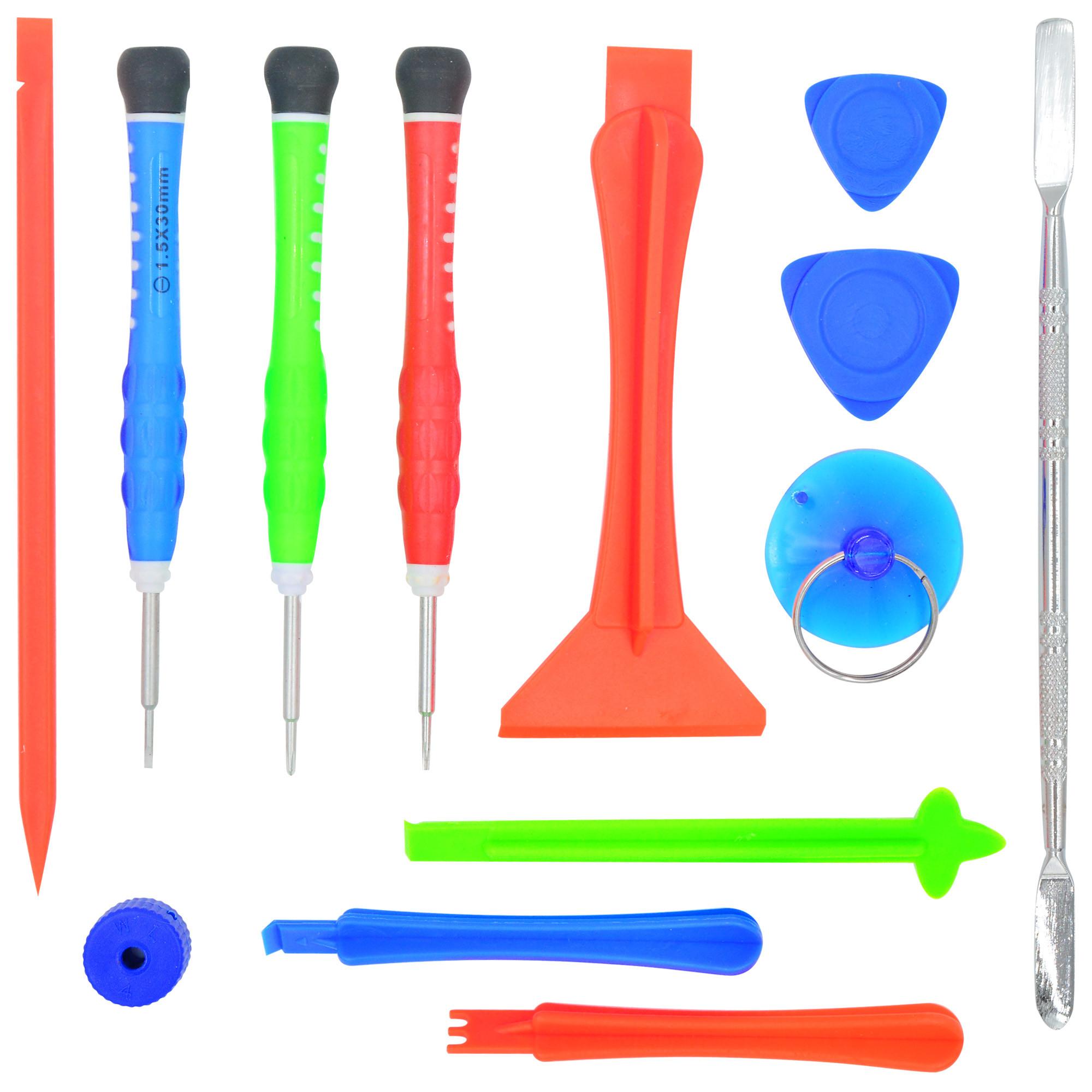 MENGS® 13 In 1 Cell Phone Repair Tool Kits For Iphone ,Blackberry, Motorola, Nokia, HTC Series Mobile Phone