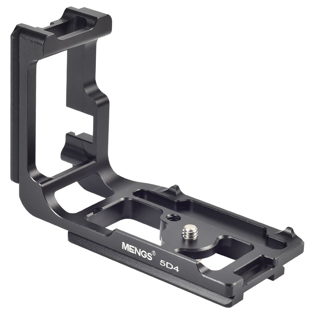 MENGS® 5D4 L-Shaped Quick Release Plate with Aluminum Alloy Material For Canon 5D IV Camera Compatible with Arca-Swiss Standard