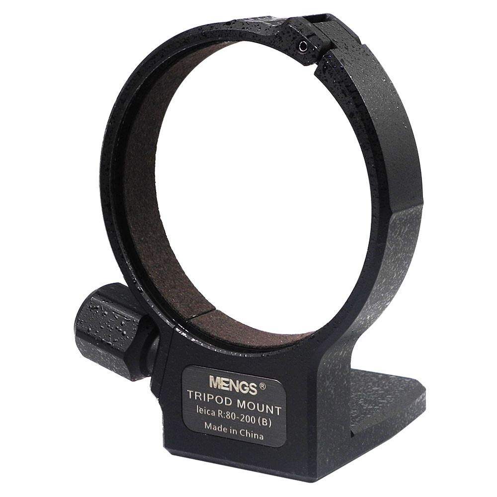 MENGS® 64mm Tripod Mount Ring R 80-200 (B) with Aluminum Alloy Material For Leica 80-200mm Vario-Elmar-R f/4 (ROM) 35mm Zoom