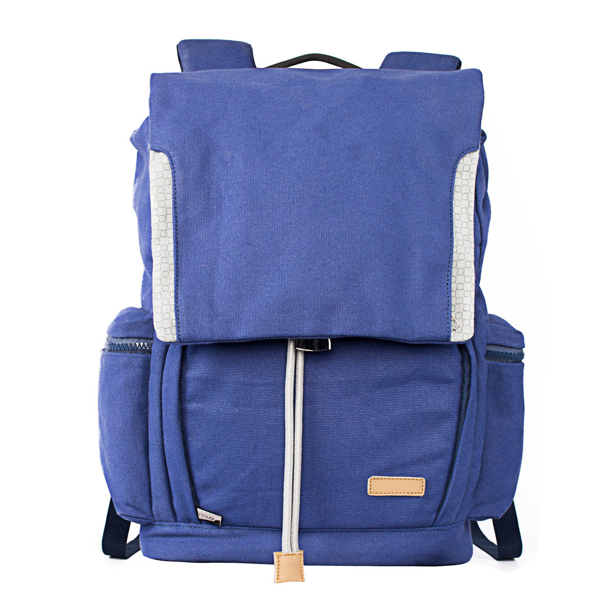MENGS® M6 Blue Camera Backpack With Canvas For Canon Nikon Sony DSLR Camera