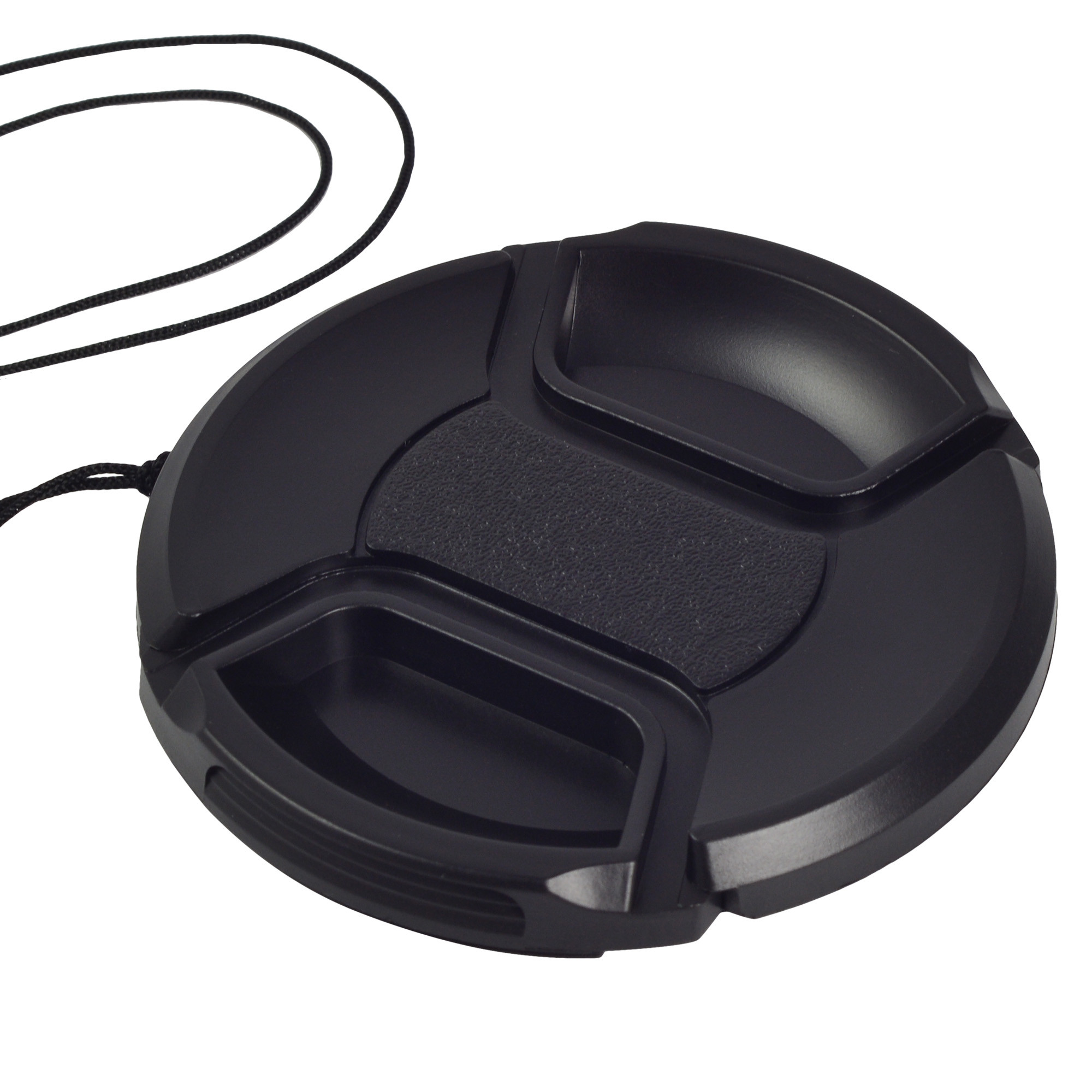 MENGS® 72mm Snap-On lens Cap Cover with string / leash for Nikon Canon Sony