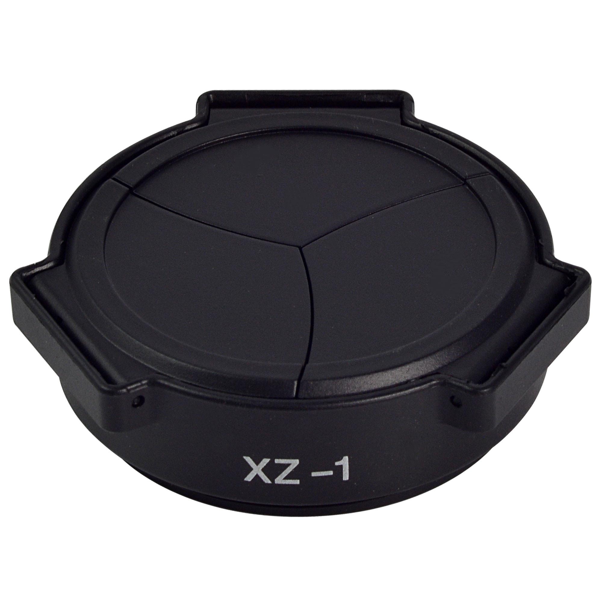 MENGS® XZ-1 Self-Retaining Auto Open Close Sync Lens Cap for Olympus XZ-1 Camera