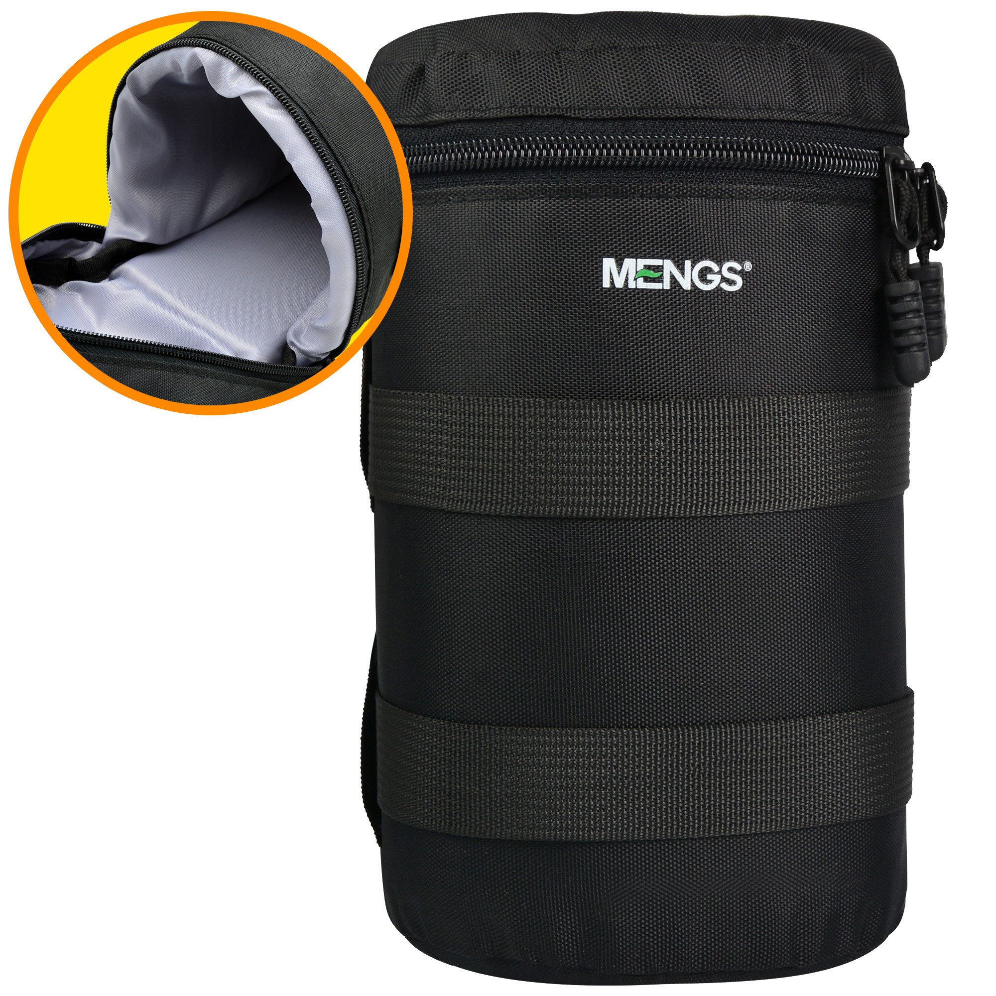 Mengsphoto Mengs 174 Fy 5 Padded Camera Lens Bag With 800d
