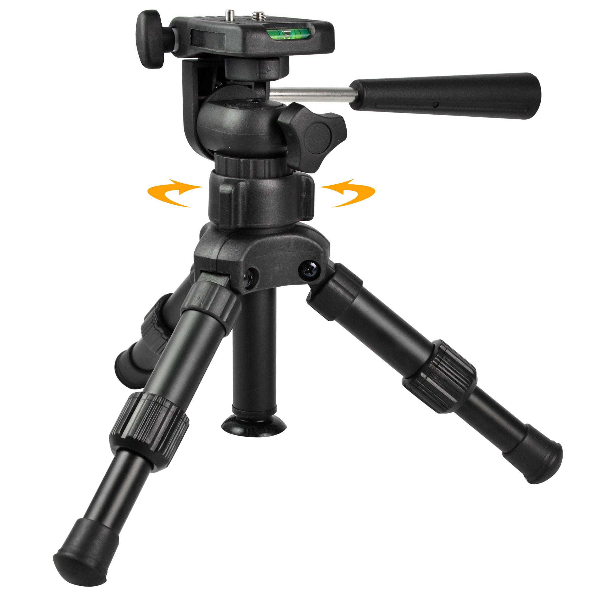 Mengsphoto Mengs 174 Portable 360 Degree Rotating Mini