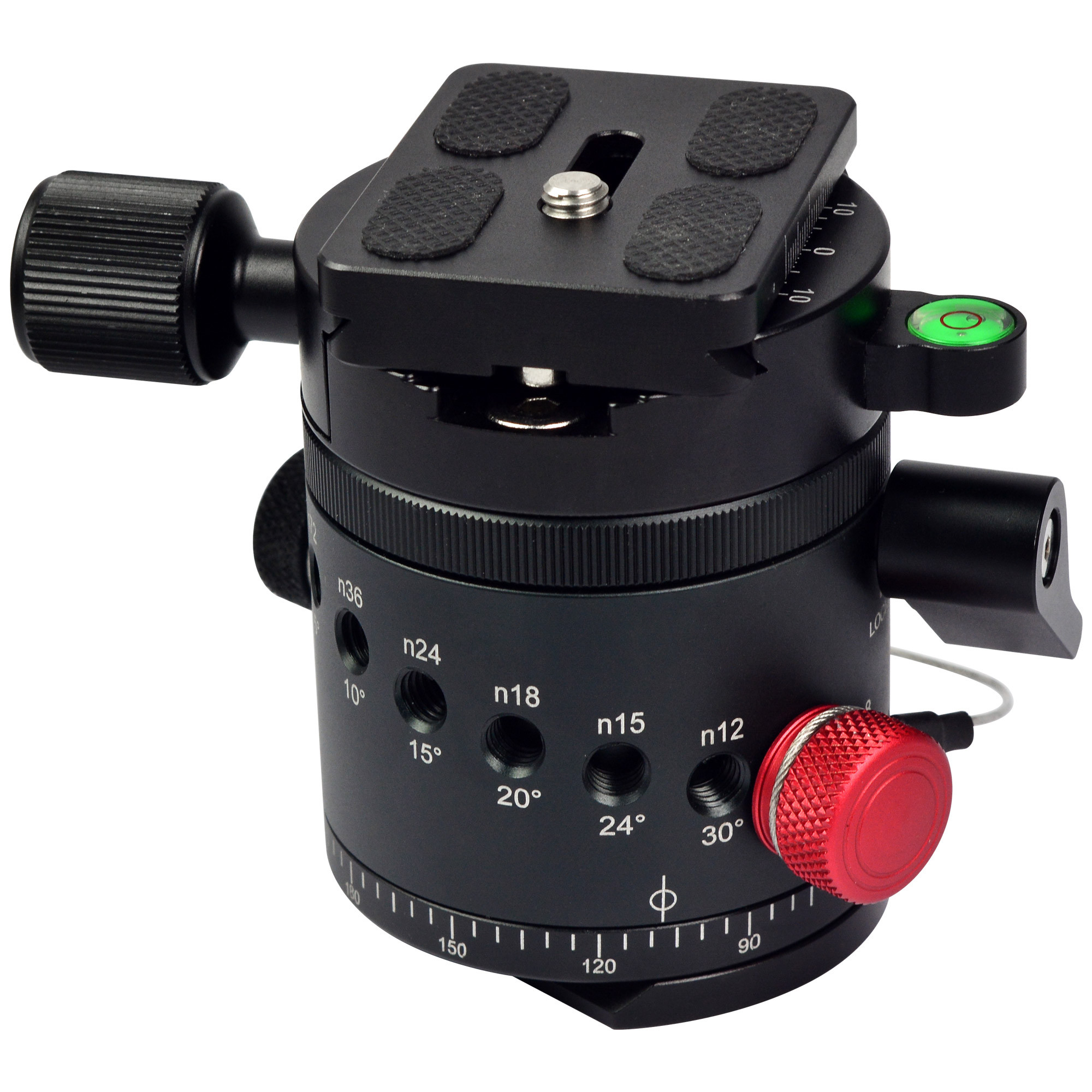 ... Camera Tripod Ball Head With Quick Release Plate. MENGS® DH-55 1/4 inch & 3/8 inch Mounting Screw