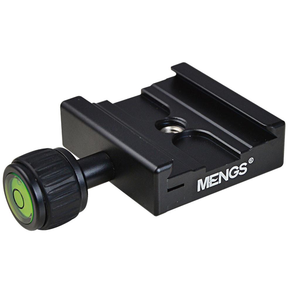 "MENGS® CL-50C Camera Quick Release Clamp 1/4"" & 3/8"" Screw for Arca Swiss Benro Sirui Wimberley Sunwayfoto"