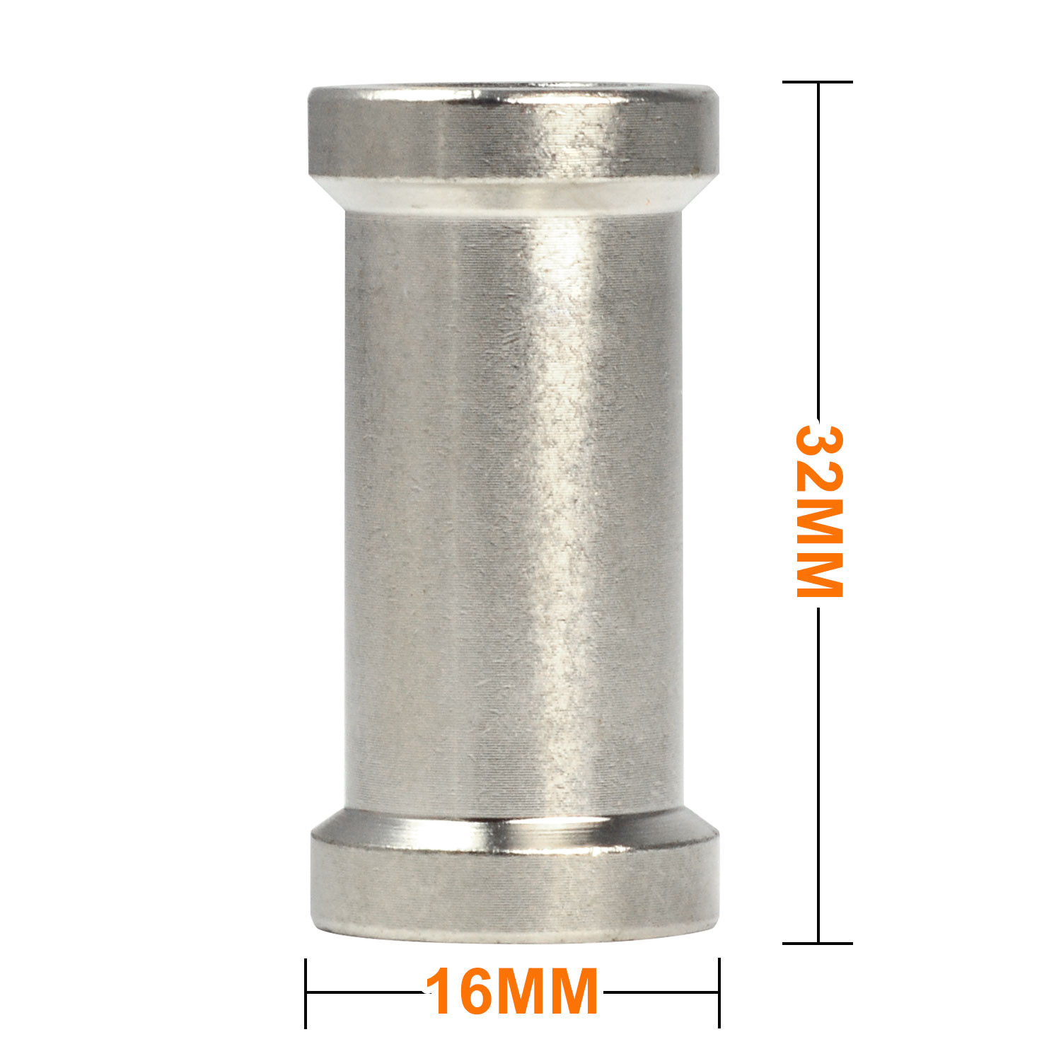 Light Stand Spigot Sizes: MENGS® Stainless Steel 1/4″ To 3/8″ Female