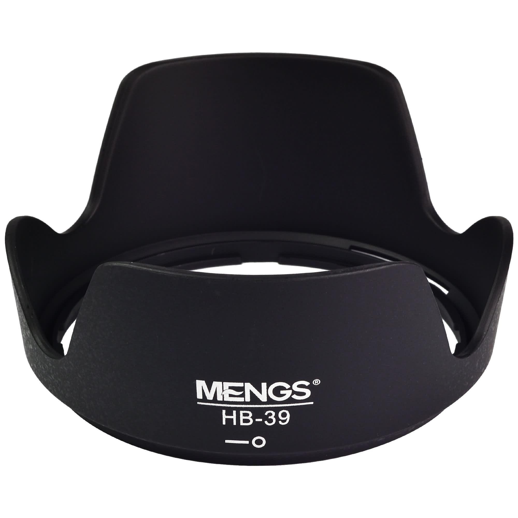 MENGS® HB-39 Petal Shape Lens Hood for Nikon AF-S DX 16-85mm f/3.5-5.6G ED VR