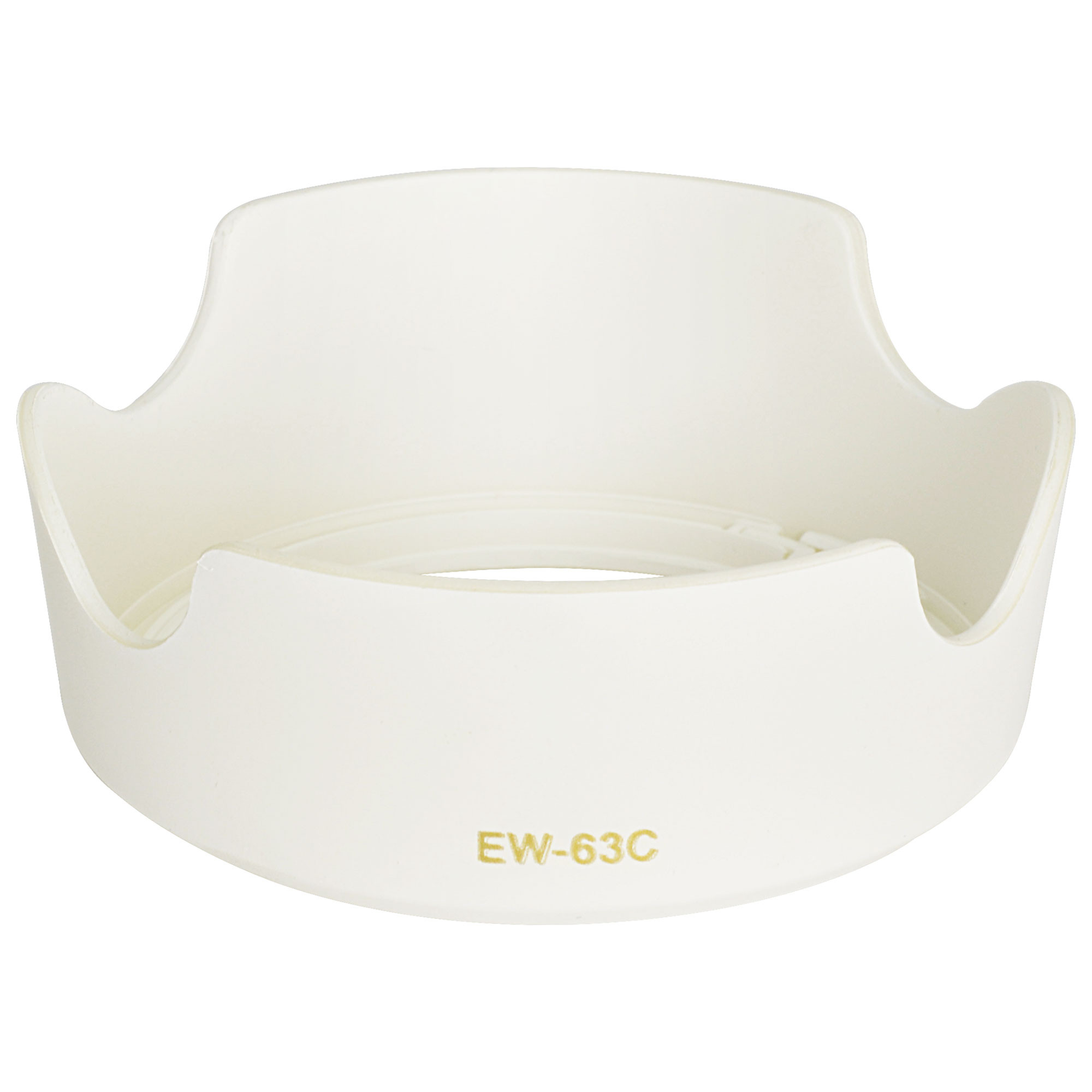 MENGS® EW-63C Lens Hood for Canon EF-S 18-55mm f/3.5-5.6 IS STM - White