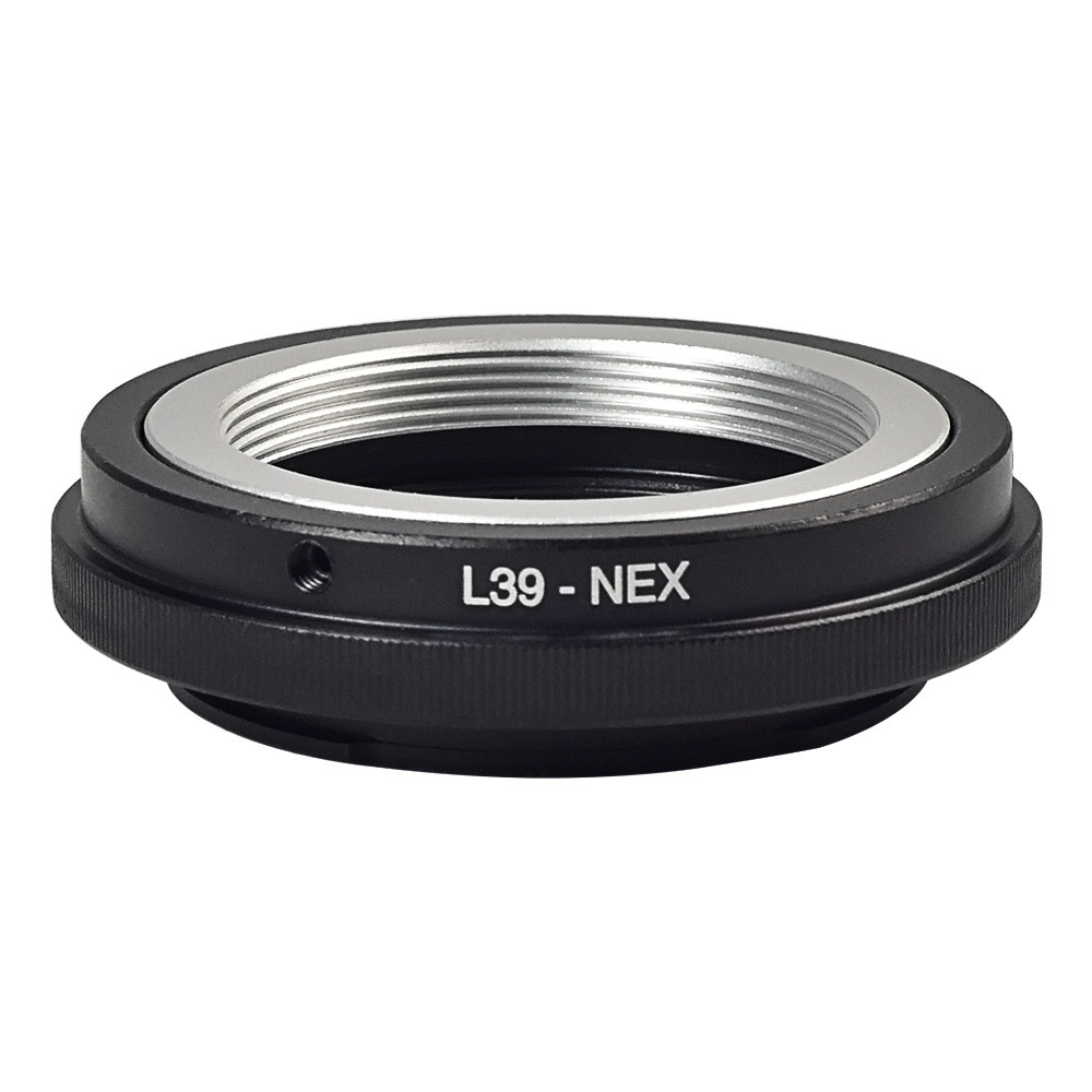 MENGS® L39-NEX lens screw mount adapter ring aluminum material for Leica M39 Lens to Sony NEX-3 NEX-5 NEX-6 NEX-7 etc micro-camera body