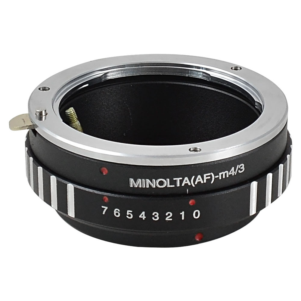 MENGS® MINOLTA(AF)-M4/3 lens mount adapter ring aluminum and copper material for Minolta MA Sony AF Lens to Olympus E-P1 E-P2 or Matsushita G1 GF1 GH1- M4/3 camera body