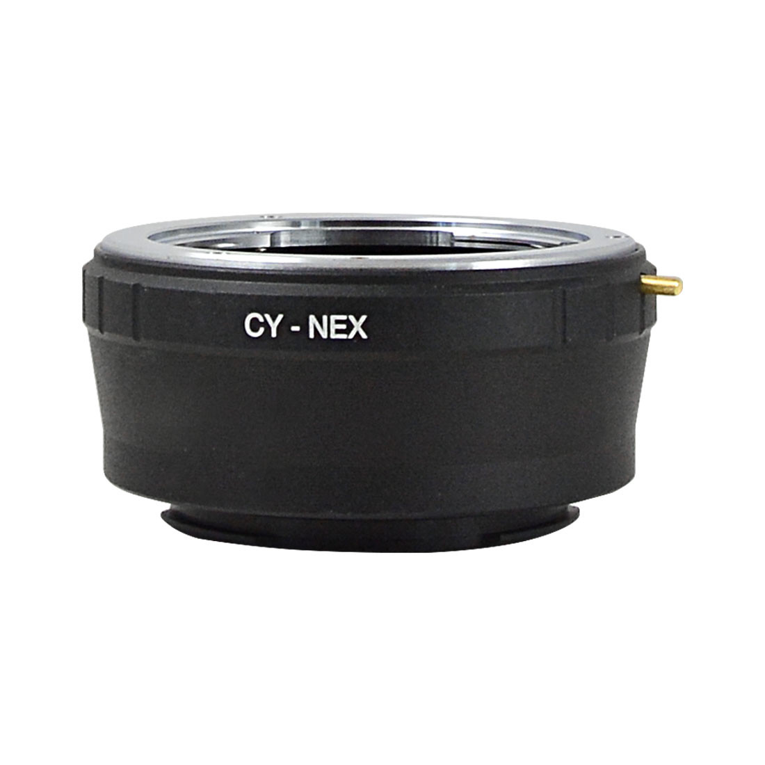 MENGS® CY-NEX lens mount adapter ring aluminum and copper material for Contax CY Lens to Sony NEX-3 NEX-5 camera body
