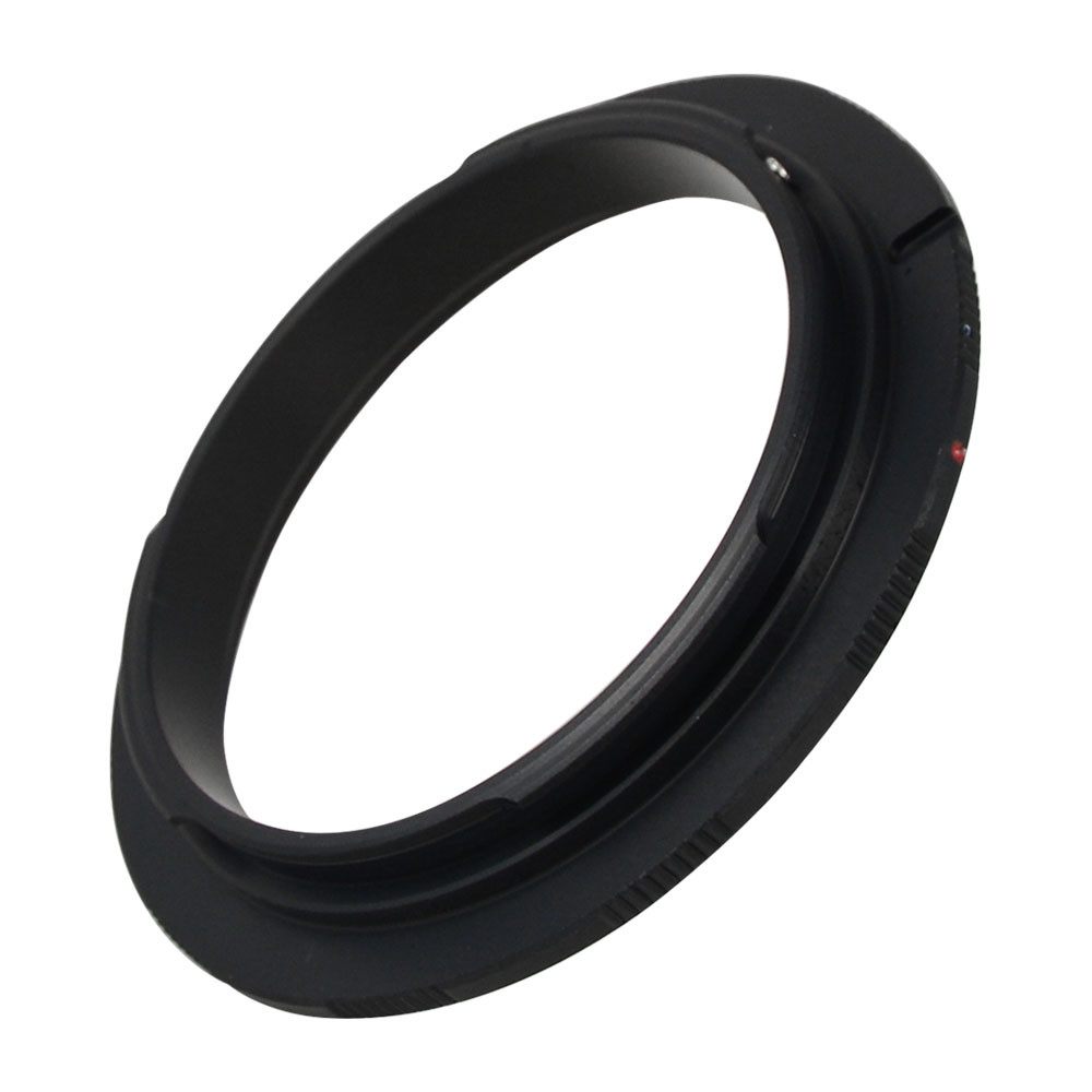 MENGS® 55mm Lens Mount Adapter Ring Alloy Aluminum Material For Canon EOS EF EF-S Camera Body