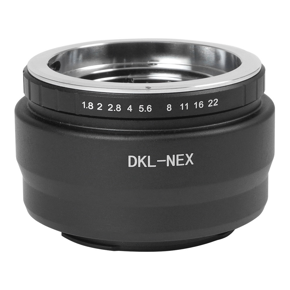 MENGS® DKL-NEX Lens Mount Adapter With Aluminum Alloy+Stainless Steel Voigtlander Retina DKL Mount Lens to Sony   NEX-5R NEX-3 NEX-C3 NEX-5N NEX-5C NEX-5R NEX-6 NEX-7 VG-10 VG-20 VG-30 VG-900 NEX-EA50 FS100 FS700 A6000   A7 A7R A7S A7M2 A7R2 E Mount Camera