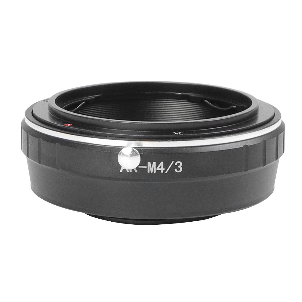 MENGS® AR-M4/3 Lens Mount Adapter With Aluminum Alloy+Stainless Steel Konica AR SLR Lens to Micro 4/3 Mount Panasonic G/GF Series and Olympus EP Series Mirrorless Camera