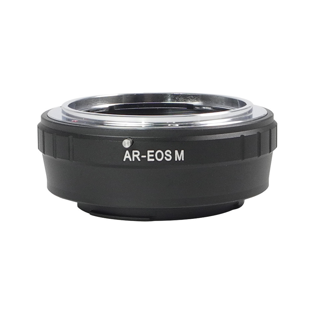 MENGS® AR-EOS M Lens Mount Adapter With Aluminum Alloy+Stainless Steel Konica AR SLR Lens to Canon M Series   Mirrorless Camera
