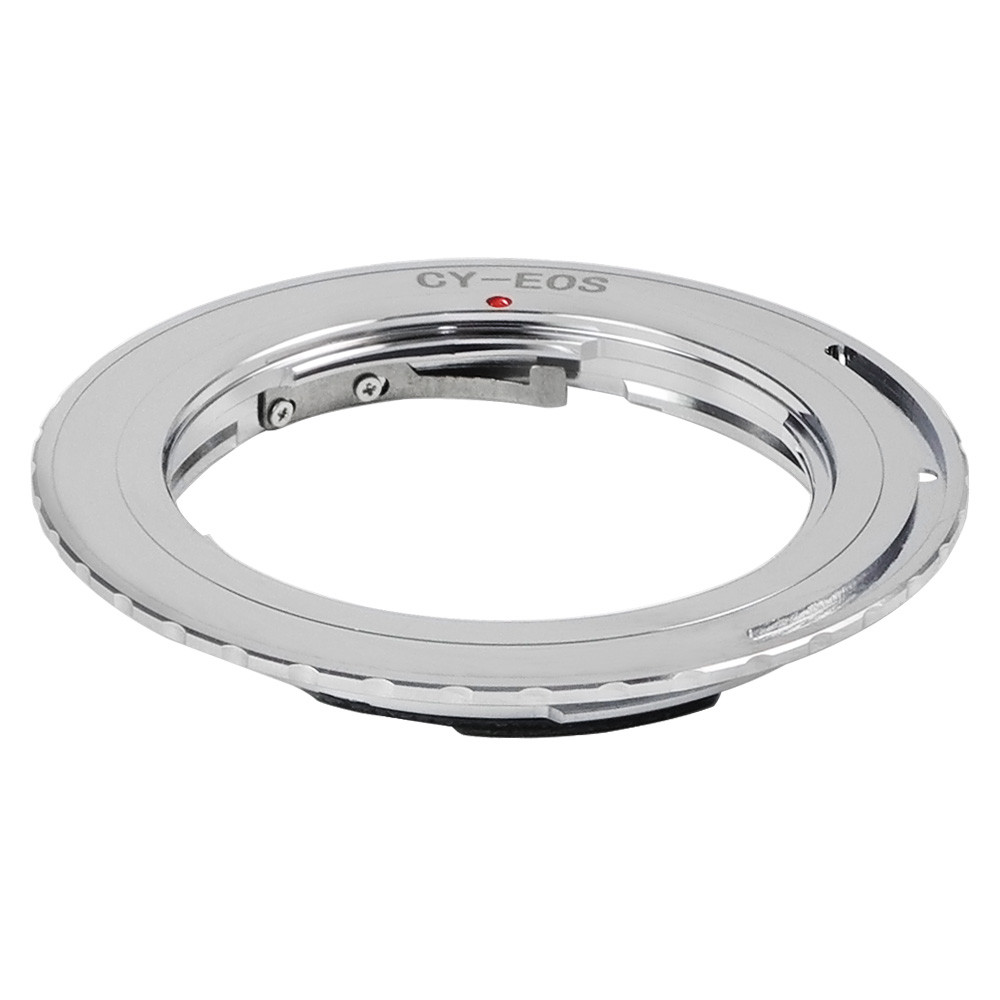 MENGS® CY-EOS Lens Mount Adapter with 9 Generation Confirm Chip With Copper Contax/Yashica SLR Lens to Canon 1D Series 300D 350D 400D 450D 500D 550D 10D 20D 30D 40D 50D 60D 5D 5D II 7D Camera