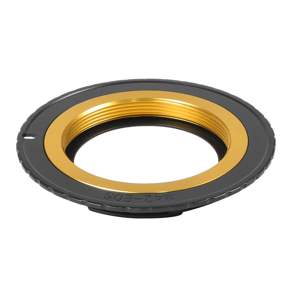MENGS® M42-EOS Lens Mount Adapter with 9 Generation Confirm Chip With Aluminum M42 Mount Lens to Canon 1D Series 300D   350D 400D 450D 500D 550D 10D 20D 30D 40D 50D 60D 5D 5D II 7D Camera