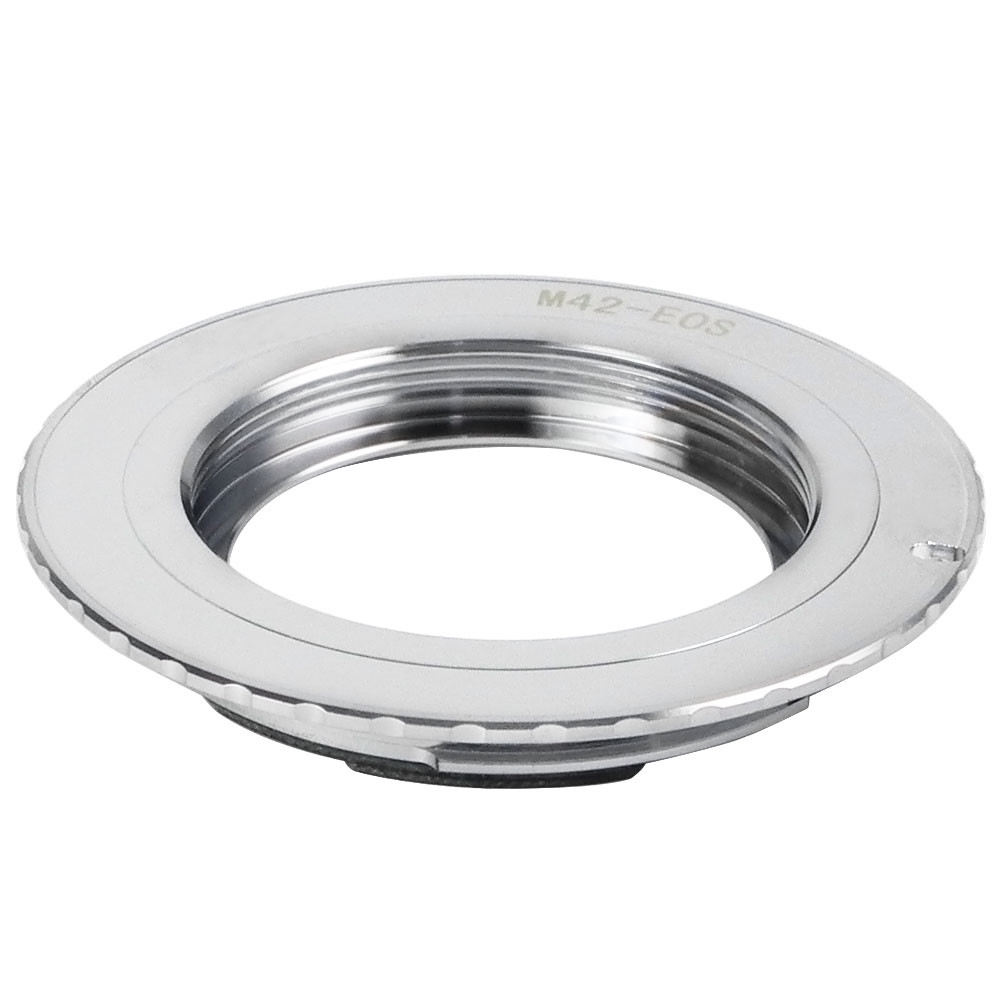 MENGS® M42-EOS Lens Mount Adapter with 9 Generation Confirm Chip With Copper M42 Mount Lens to Canon 1D Series 300D 350D   400D 450D 500D 550D 10D 20D 30D 40D 50D 60D 5D 5D II 7D Camera