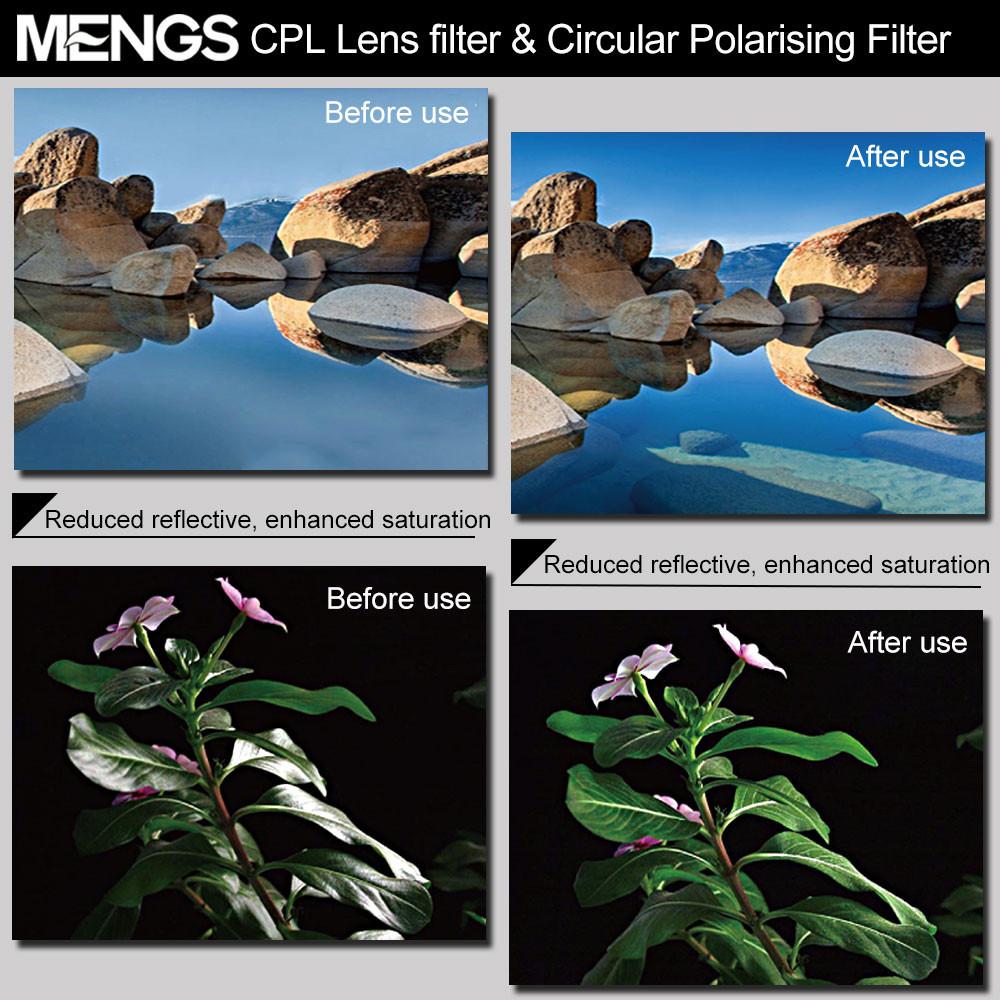 Mengsphoto Mengs 174 77mm Cpl Lens Filter Amp Circular