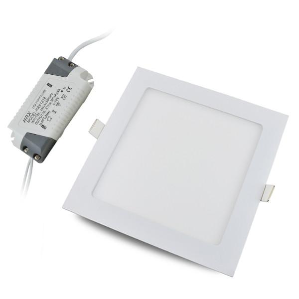 15W Square LED Recessed Ceiling Panel Light 75x 2835 SMD LEDs LED Bulb Lamp I